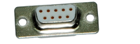 Sub-D-connector 9-position (female)