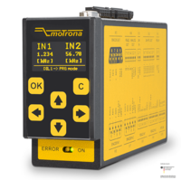 Certified Safety Monitors with SinCos Encoder and Signal Splitter