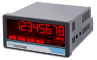 SSI indicator for absolute encoders with resistive touchscreen and multi-color graphic display