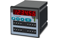 Dual SSI Indicator 6 digits with 4 Relays  (96 x 96 mm)